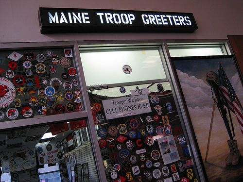 maine troop greeters 1