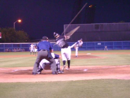 three run homer by fiorentino