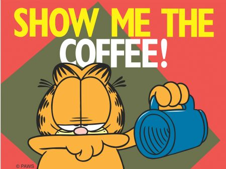 garfield show me the coffee
