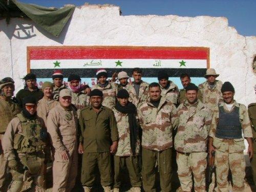 iraqi border troop