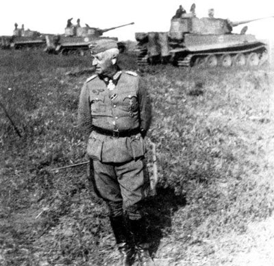 manstein with tanks