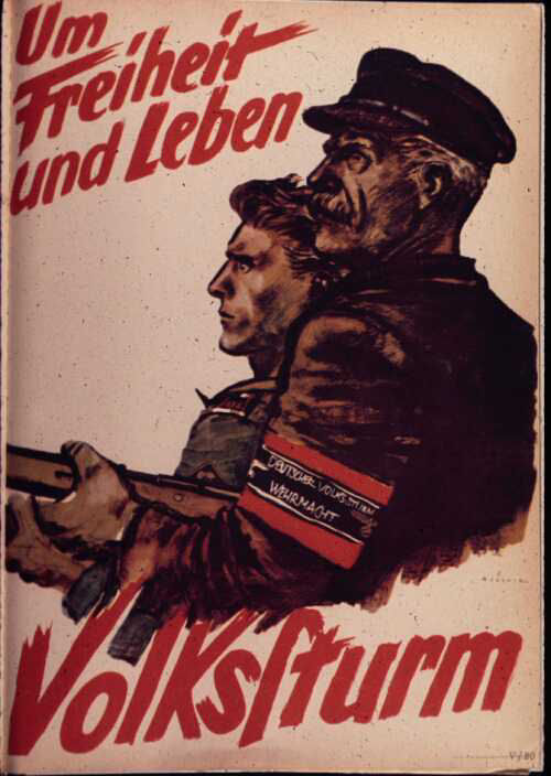 volkssturm poster