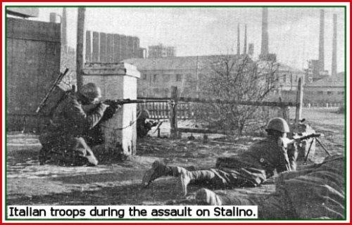 italian troops stalino