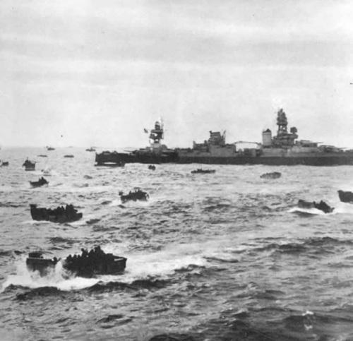 omaha_beach_uss_augusta1944