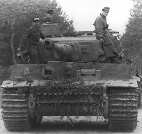 tiger-tank normandy