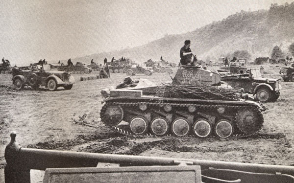chars allemands France-panzers