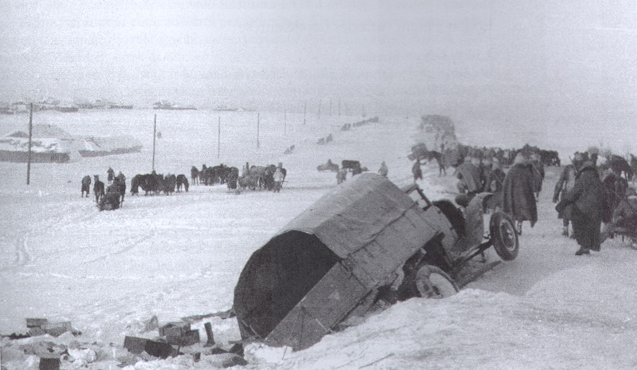 Stalingrad disaster on the volga