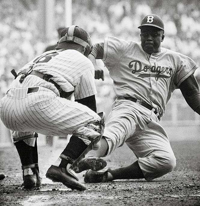 Jackie Robinson and Dr. Martin Luther King they Changed America