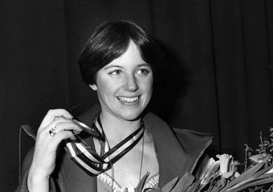 Dorothy Hamill And Gold Medal