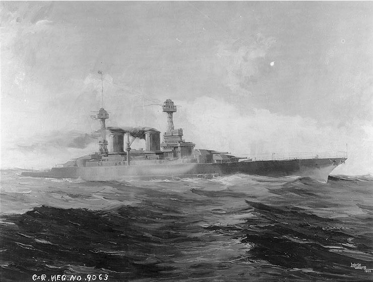 The Battle Fleet That Never Was The Uss Washington The South