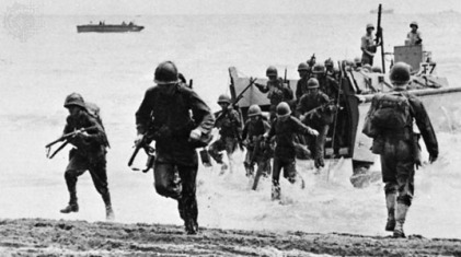 marines landing at guadalcanal