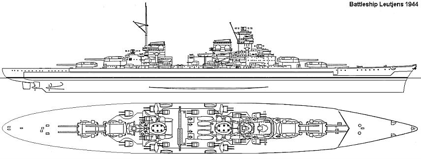 The elusive H series of German battleships - Age of Armour Warships