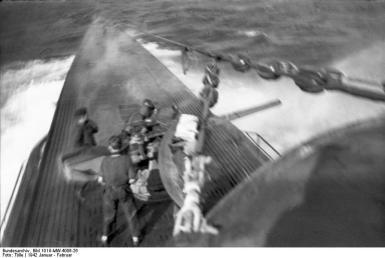 U-Boot U-123 in See