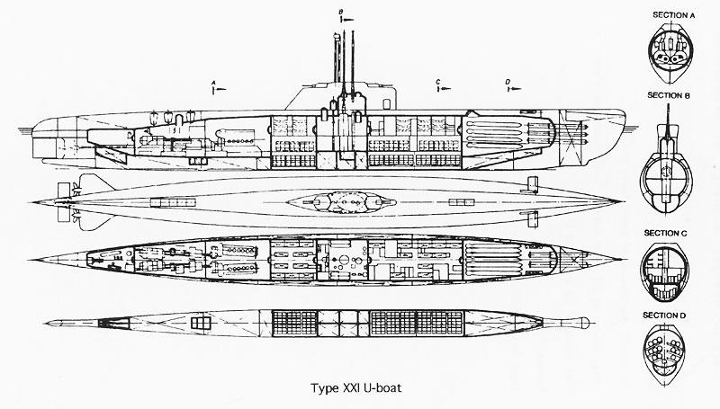 Harbingers of the Future: The German Type XXI Electroboote U-Boats
