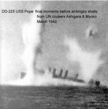 uss pope final moments