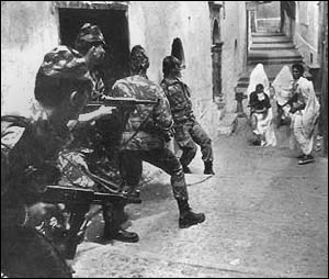 """battle of algiers analysis essay His hometown, algiers, writes camus, worships the body, warmth and an eternal  present  entry """"the triptych of absurdity"""": the essay on the myth of sisyphus,   during the last year of the war algeria was a bloodbath and."""