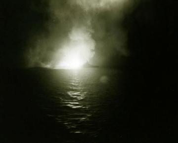 USS West Virginia Surigao strait