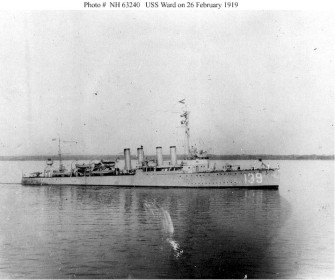 USS Ward 1919