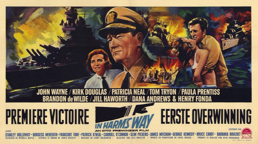 Weekend of old navy movies mister roberts the caine mutiny and in