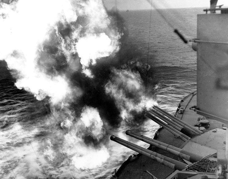Resultado de imagen de Naval artillery normandy