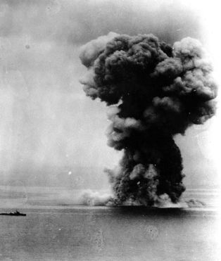 507px-Yamato_explosion