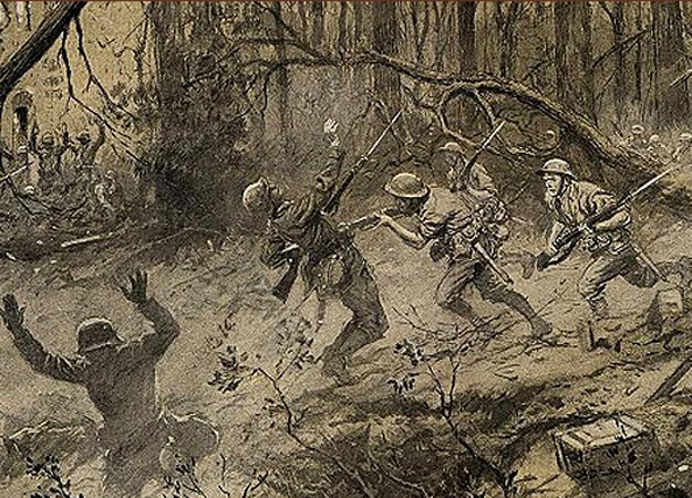 battle of belleau wood On june 1, 1918, the battle of belleau wood began in france near the river marne the united states army 2 nd and 3 rd divisions reinforced by a brigade of us marines consisting of the 5 th and 6 th marine regiments (with smaller units of french and english soldiers) faced off against 5 german.