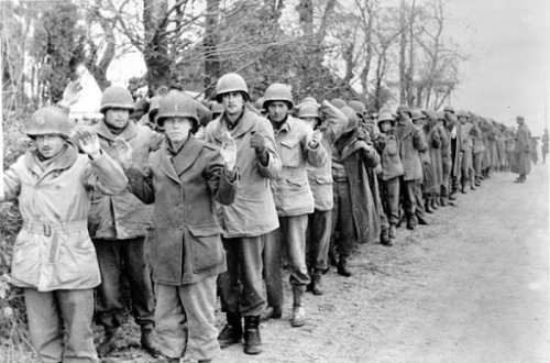 Battle of the Bulge - US prisoners on December 22nd 1944