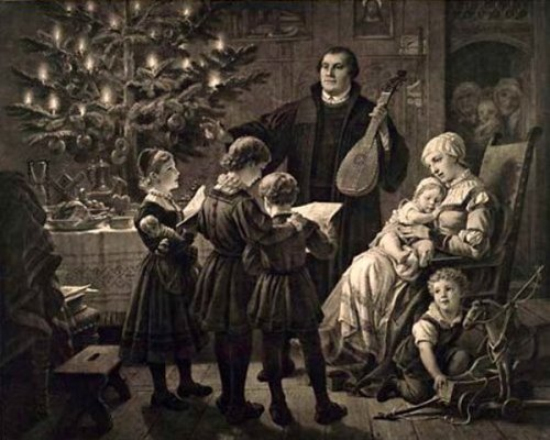 martin-luther-on-christmas-eve-with-his-family