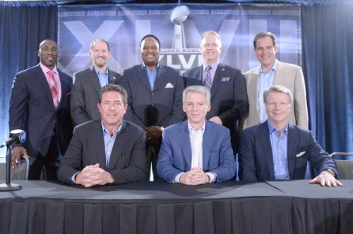 NFL: Super Bowl XLVII-CBS Sports Press Conference