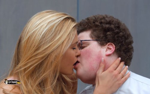 bar-refaeli-super-bowl-commercial-go-daddy-makeout