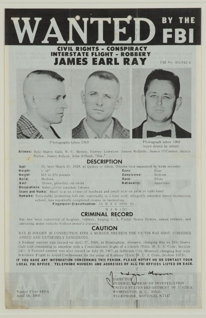 Who killed Martin Luther King Jr.? His family believes James Earl Ray was framed.