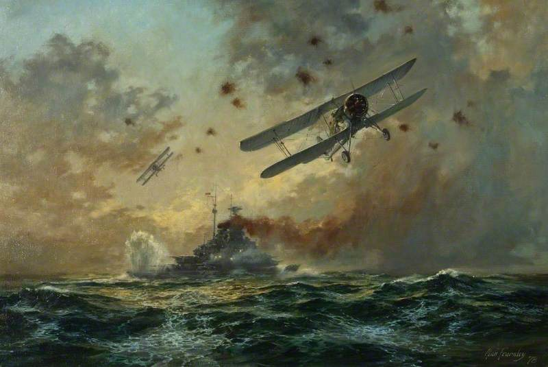 Image result for Swordfish attack bismarck pictures