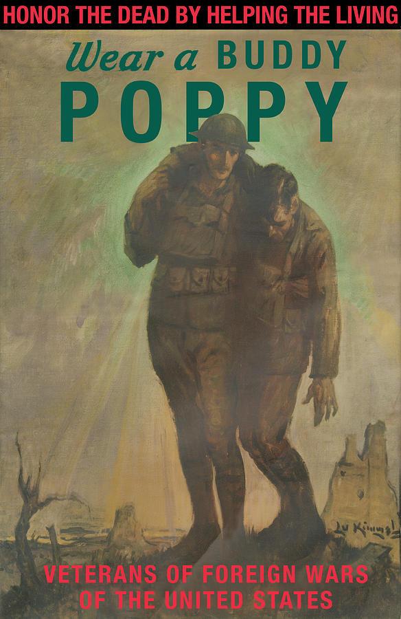 The buddy poppy symbol of memorial day padre steves world wear a buddy poppy lu kimmel publicscrutiny Gallery