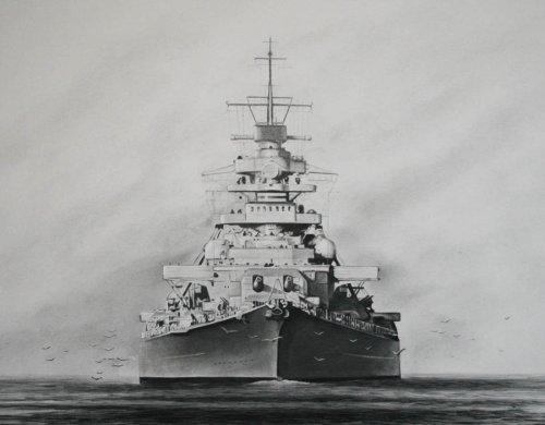 battleship_bismarck_by_rainerkalwitz-d5ejpqd