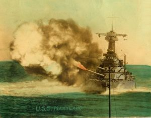 764px-USS_Maryland_broadside_1920s