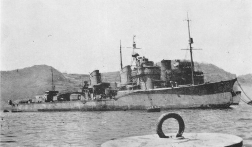 Japanese_destroyer_Ushio_1946