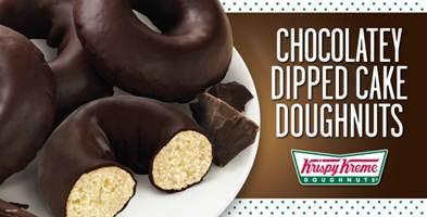 ChocolateDippedCakeDoughnuts
