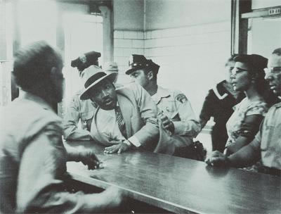 Martin Luther King being arrested in Montgomery, Alabama 1963_jpg