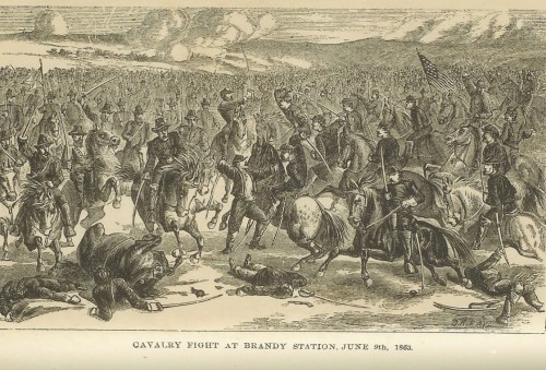 Cav Fight at Brandy Station