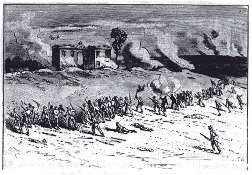 Early's_Charge_on_East_Cemetery_Hill