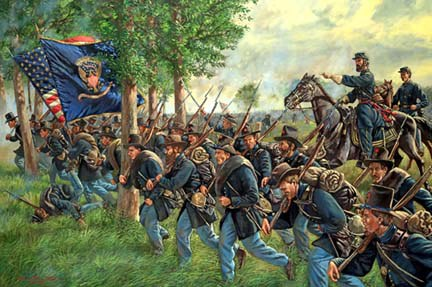 Image result for reynolds arrives gettysburg
