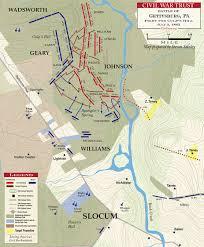 culps hill map