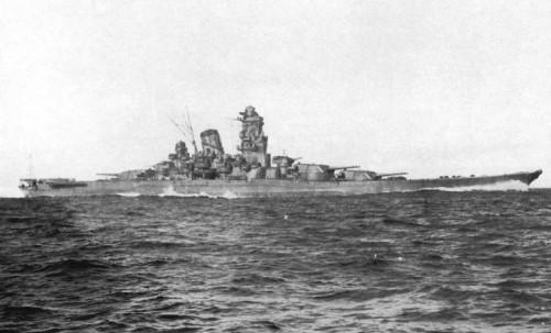 Yamato_sea_trials_2