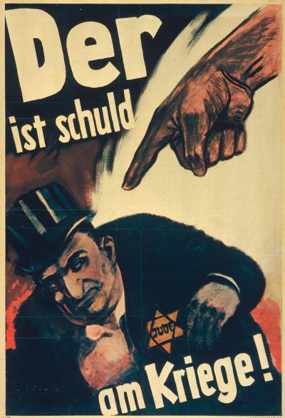 anti-jewish poster