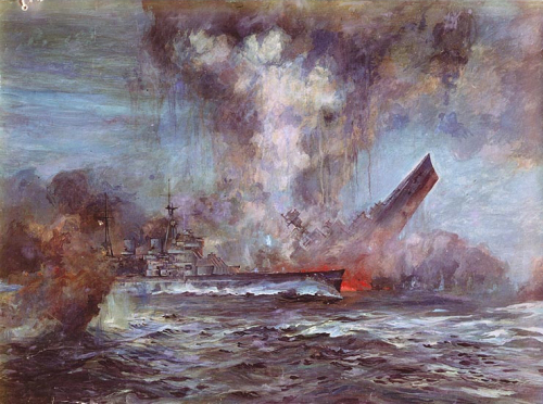 battle of jutland essay World war 1 naval warfare including the battle of jutland, coronel and the falklands, the scuttling at scapa flow and warships sunk.