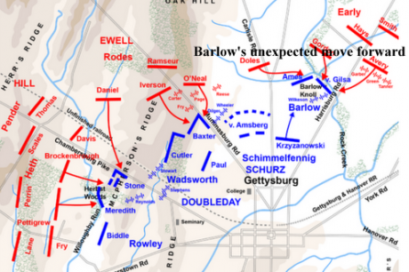 XI_Coprs_July_1_Gettysburg_Barlows_advance_thumb
