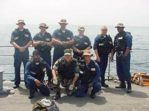 boarding team