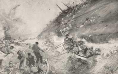 Reuterdahl_-_HMS_Cressy_Sinking