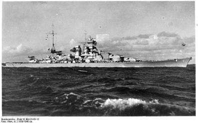 """Schlachtschiff """"Scharnhorst"""""""