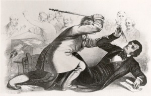 Caning-of-Charles-Sumner